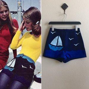 '70s / Nautical Hot Pants
